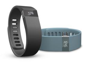 Cette image présente le design de la smartwatch Fitbit Force, la montre faite pour les sportifs.