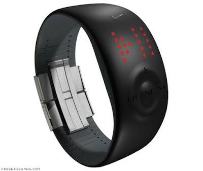 Cette image démontre un concept d'une smartwatch Nike, réalisé par un internaute, comme on peut en trouver beaucoup sur internet. Cette montre prouve déjà de belles promesses de la part de la marque américaine