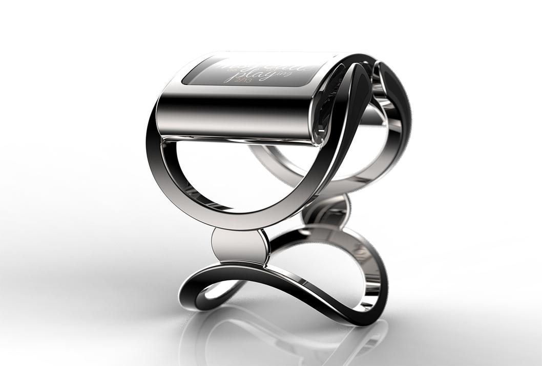 La smartwatch Ibis de Creoir est un vrai bijou de luxe, mais également un pure produit de technologie