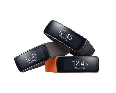 Le bracelet Samsung Gear Fit est un bracelet sportif à l'écran incurvé, bardé de capteurs pour vous aider à surveiller votre activité physique.