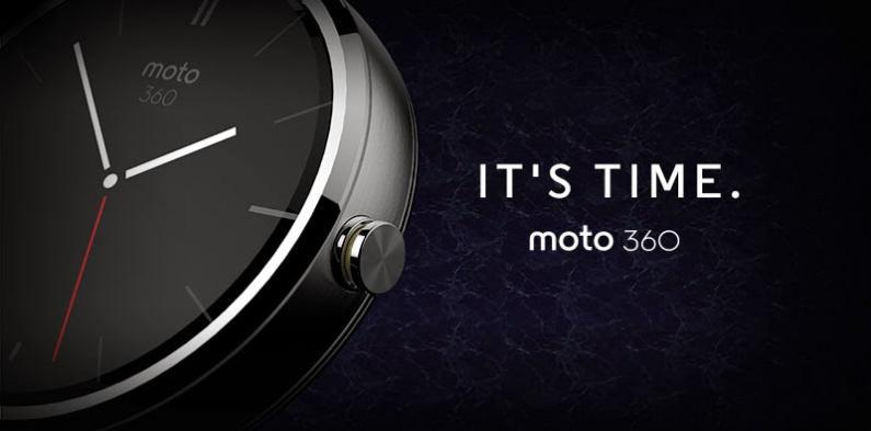 La nouvelle smartwatch de Motorola, la Moto 360, au design épuré, avec une interface graphique claire et fluide, sera disponible cet été en Amérique