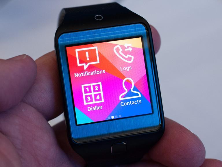 Cette photo présente la nouvelle Samsung Gear 2, qui sera vendu au prix de 299$