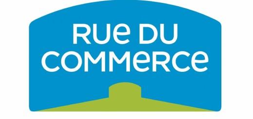 Logo rue du commerce, première enseigne à se lancer dans la boutique d'objets connectés en ligne