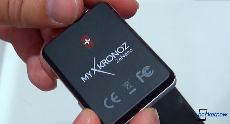 Cette photo démontre toute la prétention de l'horloger Suisse MyKronoz d'affirmer sa smartwatch comme une montre suisse, avant tout