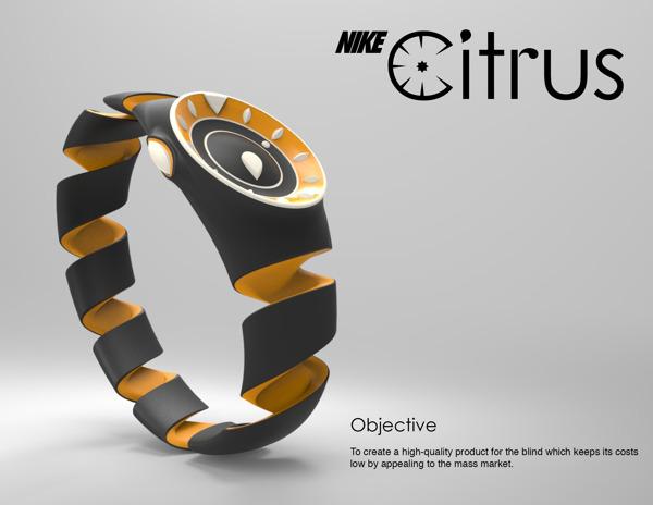 Cette image est un concept vectorisé d'une smartwatch Nike, peut être pour donner un peu d'idées au designer de la firme américaine