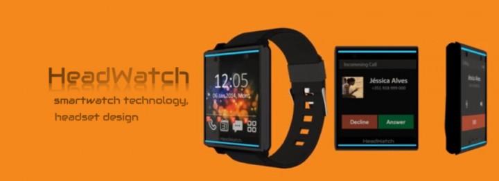 La smartwatch Headwatch est bien plus qu'une smartwatch, puisqu'elle se détache de son bracelet et se clipse à votre oreille pour passer des appels.
