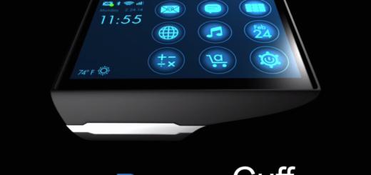 La smartwatch Rufus Cuff dispose du plus grand écran du marché, et de la meilleure autonomie de batterie.