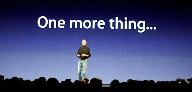 l'Apple Watch, la dernière chose