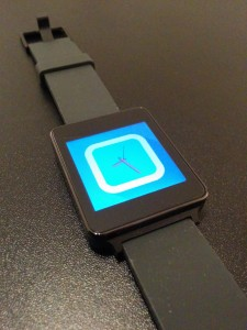 Photo de la montre connectée LG G Watch
