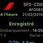 air france apple watch app