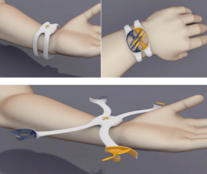 nixie drone wearable